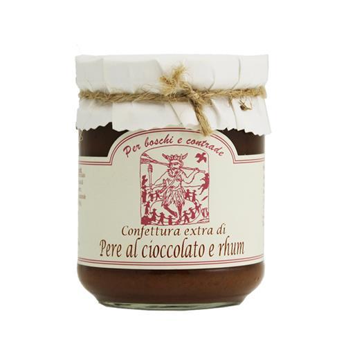 Confettura extra di Pere al cioccolato e rhum